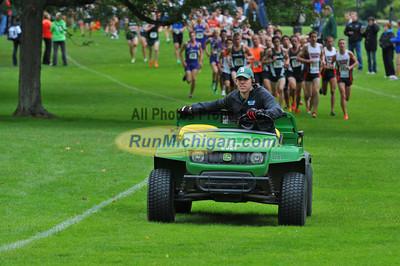 Men's College Race - 2013 Spartan XC Invitational