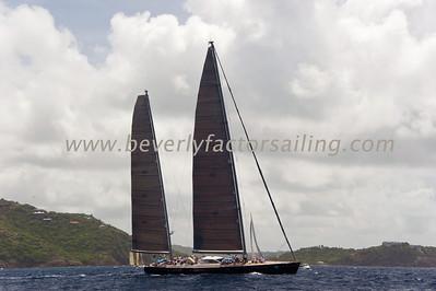 Antigua Race Week 2012 Race Day 5 RACE BOATS