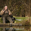 Tony Latter retrieves the empty swimfeeder. © 2010 Brian Gay