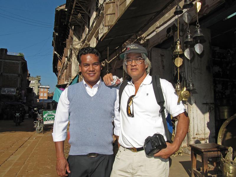 Hira & Brad Bhaktapur.JPG