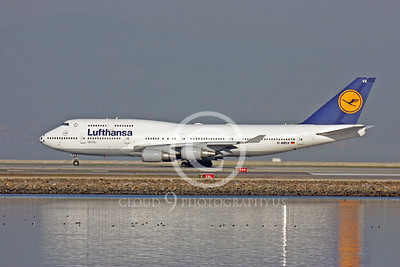 Lufthansa Airline Boeing 747 Airliner Pictures