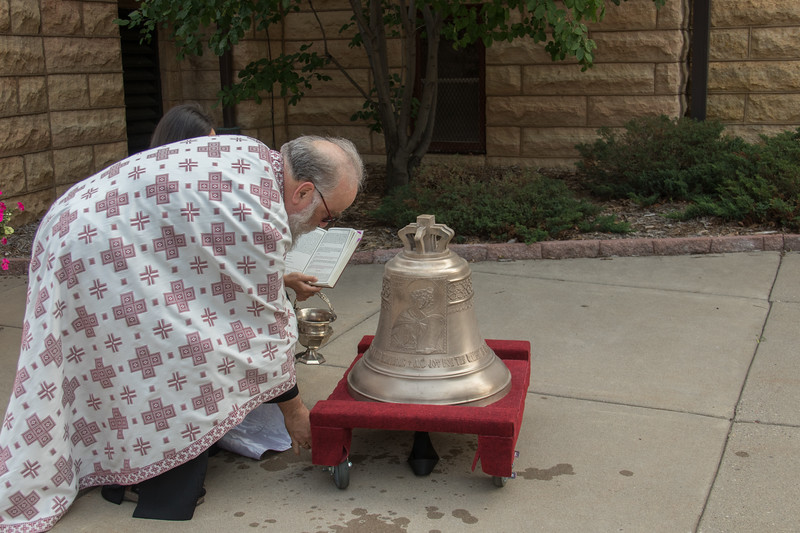 Blessing of the New Cathedral Bell 2017