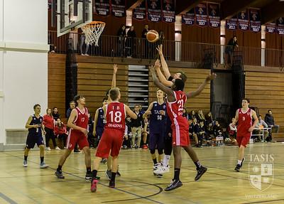 TASIS Boys Basketball Team Opens Against ISBasel