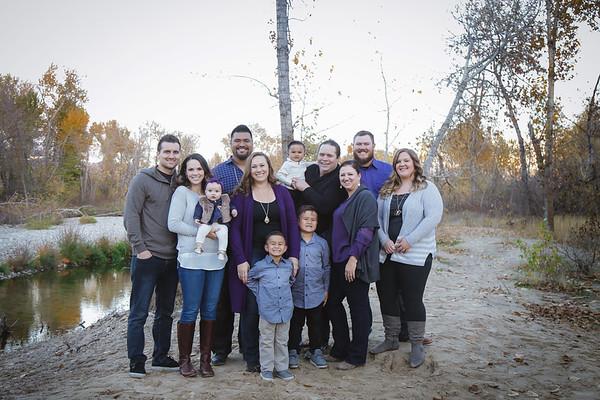 Galeai, Iupati, and Olson {Family 2018} Eagle, Idaho
