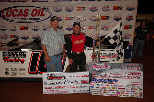 Swainsboro Raceway (GA) 6/18