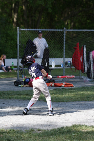 Langille Baseball North Attleboro Little league Baseball Red Sox vs Cubs 6/6/09
