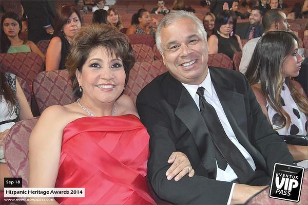 Hispanic Heritage Awards 2014 | Thu, Sep 18