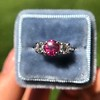 1.71ctw Ruby and Diamond Trilogy Ring 8