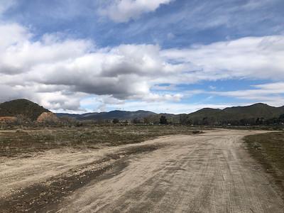 DESERT LAND AND HILLS
