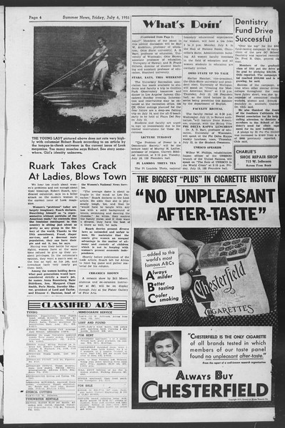Summer News, Vol. 6, No. 4, July 06, 1951