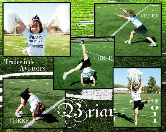 Cheerleaders Aviators 2011