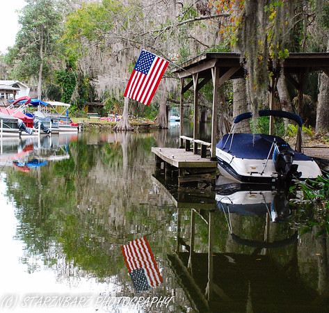 Mt. Dora Canal by Boat