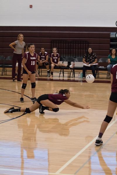 Sierra Volleyball 09-29-2017