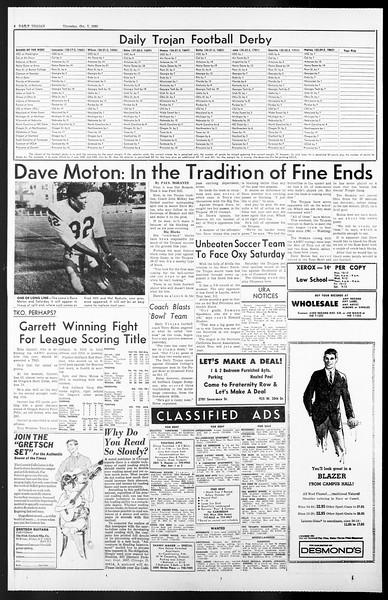 Daily Trojan, Vol. 57, No. 14, October 07, 1965