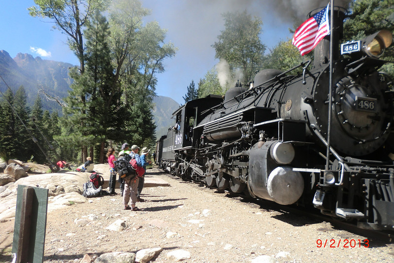 We used the same scenic train from Needleton to Silverton.