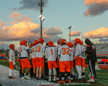 Boys JV Lacrosse vs West Springfield 3/3/17