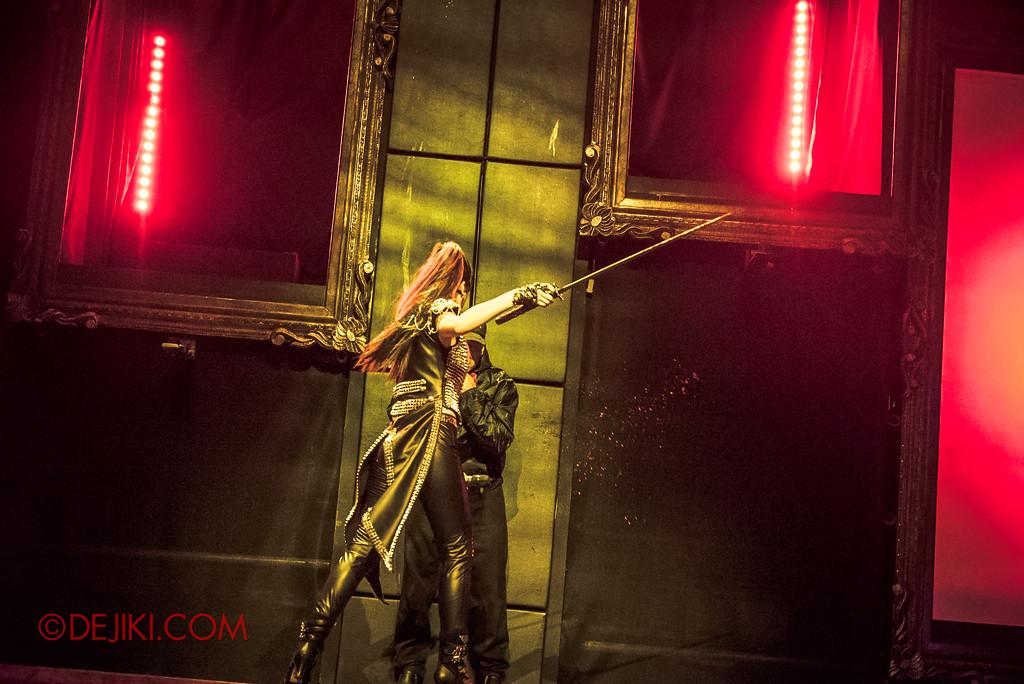 Halloween Horror Nights 7 - Slice of Life Tour live concert show / The Last Slice