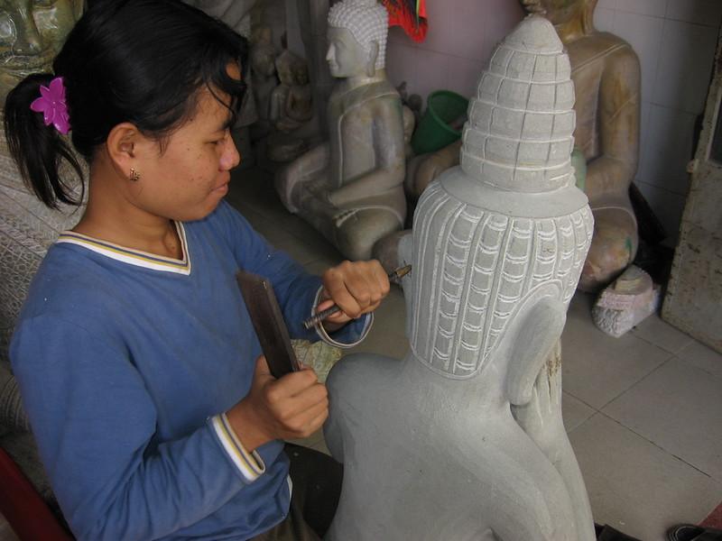 Making Buddhas