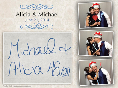 Alicia & Michael - Photo Booth