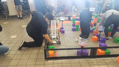 2019 Robotics at Cy-Springs VEX Tower Takeover