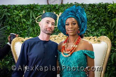Wedding at the Obi Igbo Community Banquet Hall