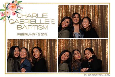Charlie Gabrielle's Baptism