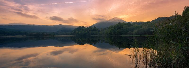 Loch Achray Sunset