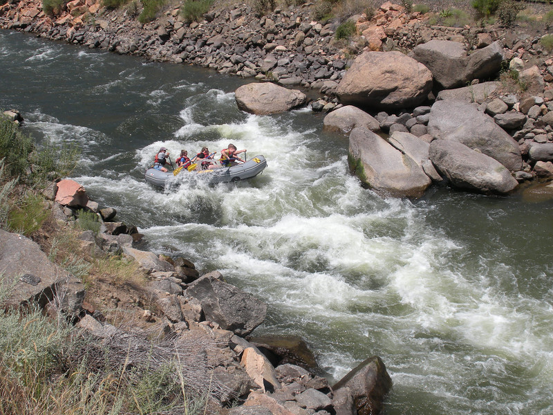 White Water Rafting on the Arkansas River.