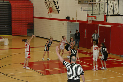 Girls Junior Varsity Basketball - 2006-2007 - 10/19/2006 Newaygo JG