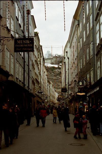 Christmas on Getreidestrasse: Mozart's Birthplace - Salzburg, Austria