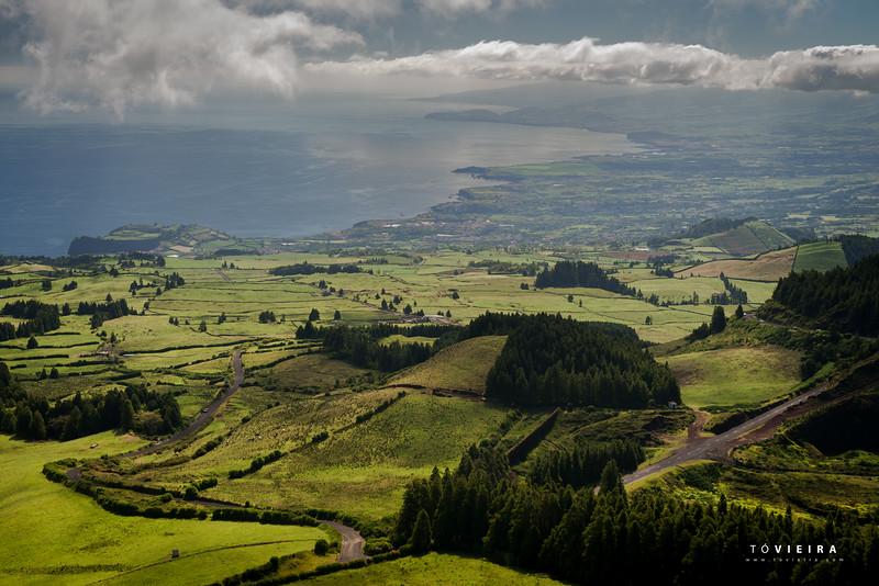 Lagoa das Empadadas, Miradouro, S Miguel, Açores