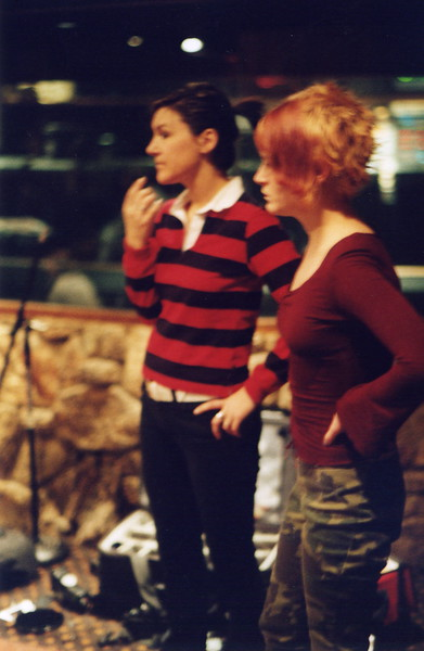 In the recording studio, Los Angeles (2000).