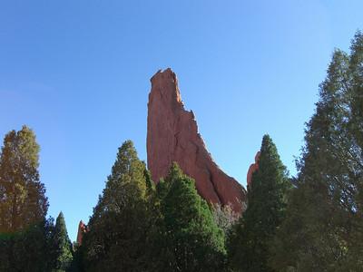 North Ridge of Montezuma's Tower - 9/26/06