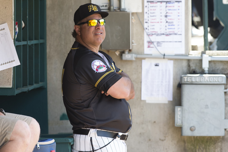 05/16/19  Wesley Bunnell   Staff  The Lancaster Barnstormers defeated the New Britain Bees 10-3 during an early 10:30 a.m. start featuring thousands of CSDNB school children in attendance. Manager Mauro Gozzo (47).