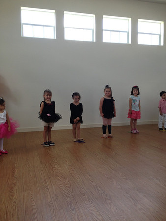 Dance Recital, May 2014
