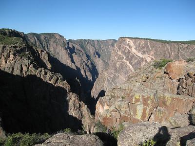 Black Canyon of the Gunnison National Park, Colorado 8/30/07