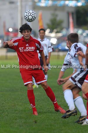 Soccer, Boys H.S. Varsity, St. John the Baptist vs Bay Shore (09-15-07)