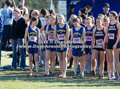 11/10/2012 - Girls Varsity Cross Country - D2 Sectional - Needham