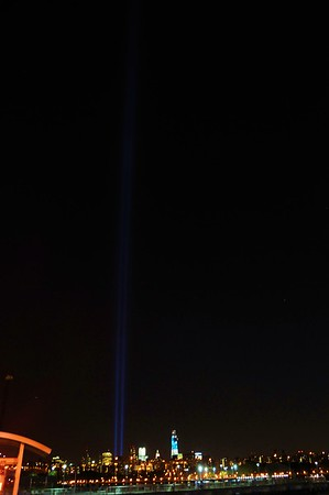 World Trade Center Lights 2012