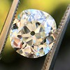 3.07ct Antique Cushion Cut Diamond GIA M VS2 16