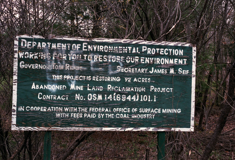 Abandoned Mine Land Reclamation Project
