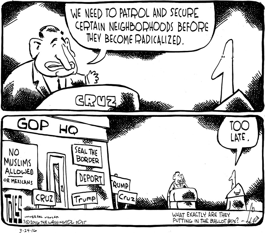 . Tom Toles / Washington Post