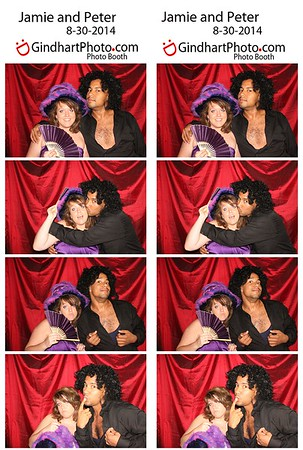 Jamie and Peter's Wedding Photobooth