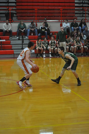 CHS Freshman Hoops vs Mattoon 2/15/12