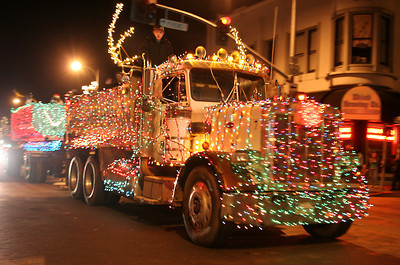 Annual Truckers Light Parade