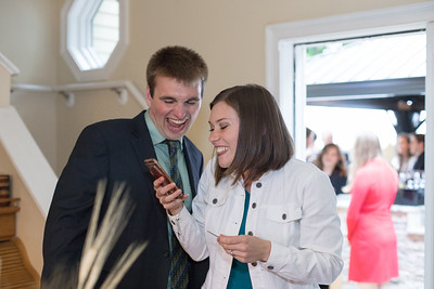 The Nursing Board Exam Results- Carla Lomangino & Kyle Murray New Endland Wedding Photographer- East Longmeadow Back Yard Ceremony