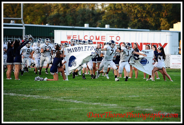Football - Ocean vs Middletown South  Sept 2011
