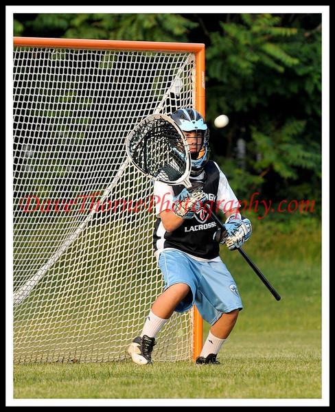 Lacrosse - Trilogy Lacrosse Practice June 2009