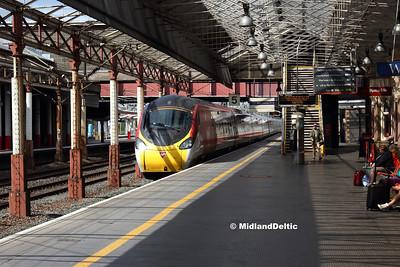 Tutbury - Crewe (Rail), 18-08-2018