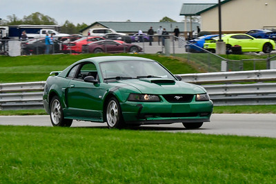 2020 SCCA TNiA Sept 30 Pitt Race Int Green Mustang